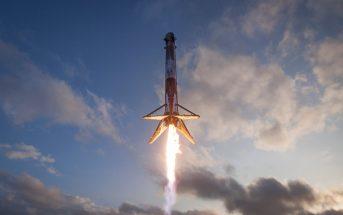 Falcon 9R ląduje na platformie morskiej - 31 marca 2017 / Credits - SpaceX