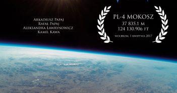 Widok z misji PL-4 MOKOSZ / Credits - Arkadiusz Papaj, stratosferyczna Polska