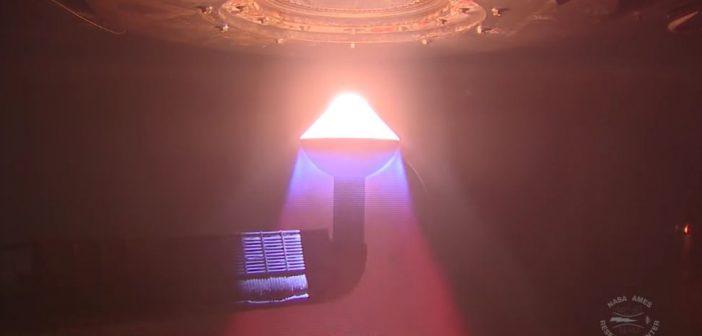 NASA testuje możliwości materiałów przeznaczonych dla osłon termicznych