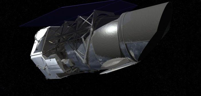 Wizualizacja Kosmicznego Obserwatorium WFIRST (NASA)