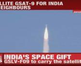 Udany start GSLV Mk 2 z GSat-9