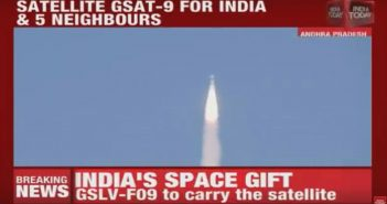 Start GSLV Mk 2 - 05.05.2017 / Credits - India Today