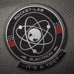 Logo misji It's a Test / Credits - Rocket Lab