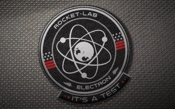 Logo misji It's a Test / Credits - Rocket Lab