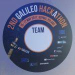 Logo hackatonu Galileo / Credits - GSA