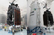 Satelita Inmarsat-5 F4 / Credits - SpaceX, Inmarsat