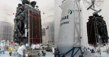 Przygotowania do startu Falcona 9 z Inmarsat-5 F4