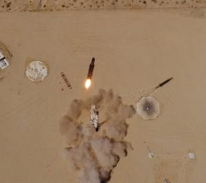 Start testowy modelu inżynieryjnego rakiety należącej do Firmy Vector (Vector)
