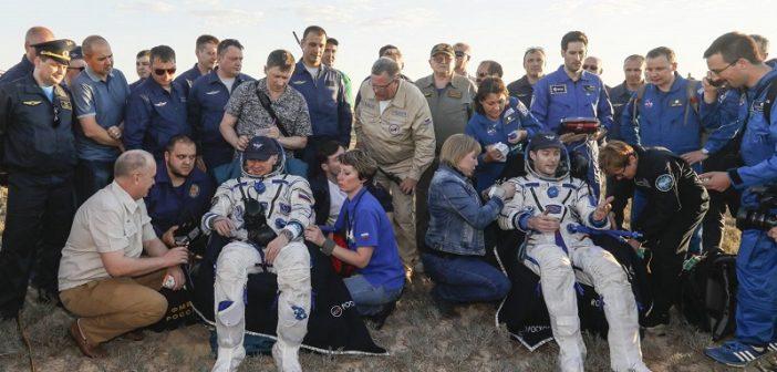 Lądownik Sojuza MS-03 wrócił na Ziemię