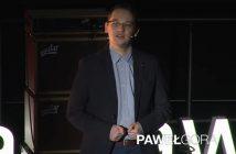 Paweł Gora na TEDx / Credits - TEDx