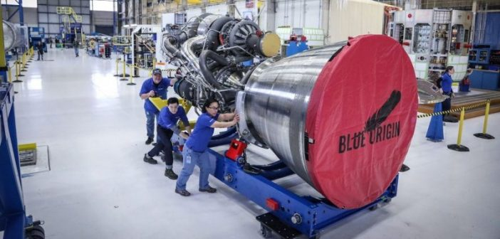 Blue Origin planuje budować silniki BE-4 w Huntsville
