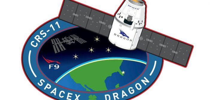 Logo misji CRS-11 / Credits - SpaceX
