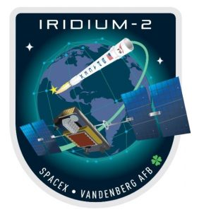 Oficjalny patch misji SpaceX Iridium-2 (SpaceX)