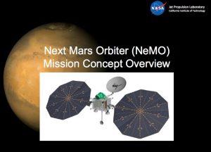 Jedna z koncepcji orbitera NeMO / Credits - NASA, JPL. - Caltech