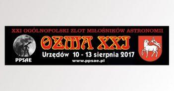 Banner zlotu OZMA XXI / Credits - PPSAE