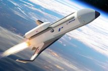 Grafika prezentująca rakietoplan XS-1 / Credits - DARPA
