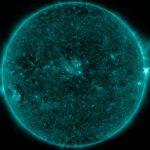 13 minut po fazie maksymalnej rozbłysku M1.3 z 3 lipca / Credits - NASA, SDO