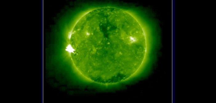 Ujęcie rozbłysku z 23 lipca okiem sondy STEREO-A / Credits - NASA