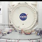 Widok na Komorę A i temperatury wewnątrz oraz na zewnątrz tej komory / Credits - NASA