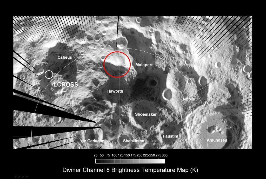Księżycowy Biegun Południowy / Credits: NASA