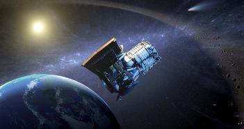 Wizja artystyczna sondy WISE / credits NASA