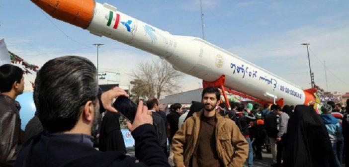 Nieudany start irańskiej rakiety