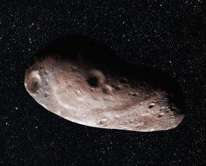 Wizja 2014 MU69 jako pojedynczego, podłużnego obiektu / Credits - NASA/JHUAPL/SwRI/Alex Parker