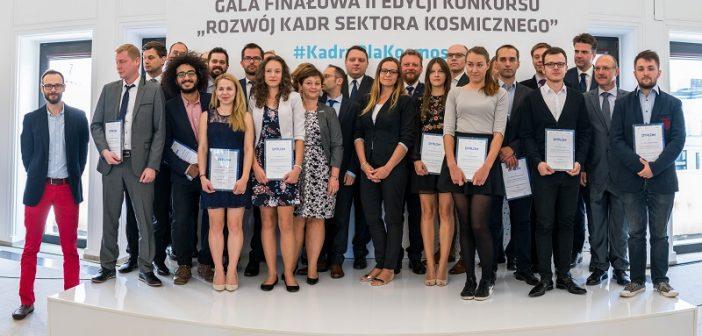 Początek stażu dla laureatów II konkursu Kadry Sektora Kosmiczego