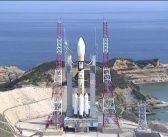 Start rakiety H-2A z satelitą Michibiki-3