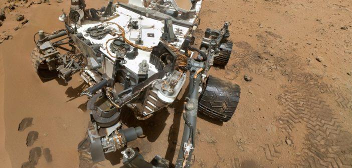 Złożone zdjęcie MSL z października 2012 / Credits - NASA/JPL-Caltech/Malin Space Science Systems
