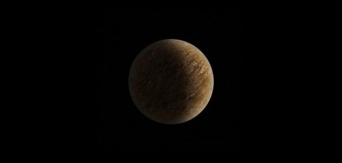 Mała skalista egzoplaneta / Credits - K. Kanawka, kosmonauta.net