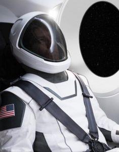 Pierwsze spojrzenie na skafander firmy SpaceX / Credits - SpaceX