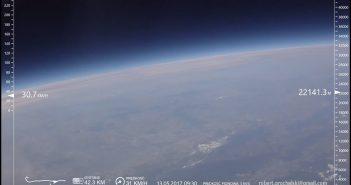 Jedno z ujęć z misji z 13 maja 2017 / Credits - Robert Grochalski