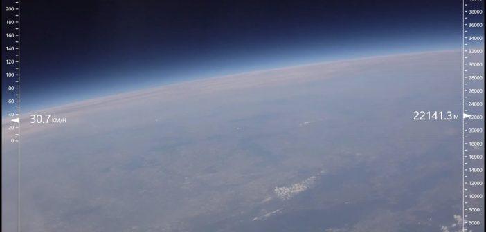 Misja stratosferyczna z okolic Bydgoszczy (13.05.2017)