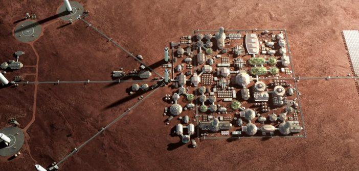 Aktualizacja planów marsjańskich SpaceX