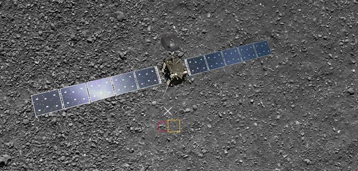 Ostatnie pół zdjęcia z sondy Rosetta
