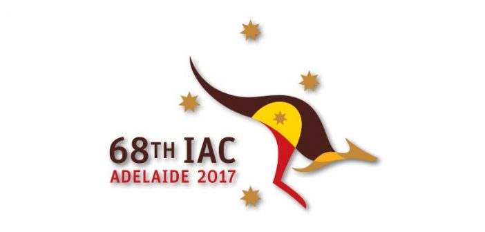 Logo IAC 2017 / Credits - International Astronautical Federation