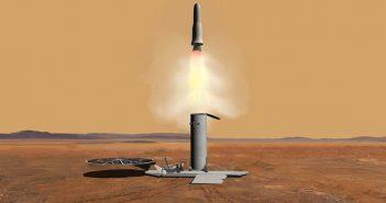 Koncepcja prostej misji sample return / Credits - NASA, JPL