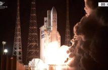 Start Ariane 5 z Intelsat 37e i BSat-4a - 29.09.2017 / Credits - Arianespace