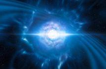 Wizja artystyczna kilonowej GW170817 / Credits - ESO/L. Calçada/M. Kornmesser