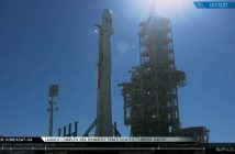 Moment startu Falcona 9 z Koreasat-5A / SpaceX