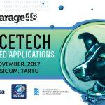 Logo hackatonu w Tartu (3-5 listopada 2017) / Credits - Garage48