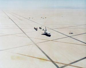 Prom Columbia po lądowaniu w Edwards / Credits - NASA