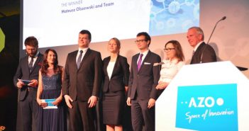 Zespół Żukbot na gali finałowej Satellite Masters Conference / Foto: Blue Dot Solutions