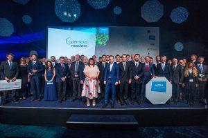 Zwycięzcy nagród w tegorocznym Copernicus Masters / Credits - AZO