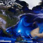 Początek września 2017 - huragan Irma zbliża się do Karaibów / Credits - NASA, USRA, GSFC, ADNET systems, ASCAP