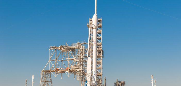 Rakieta Falcon 9 z satelitą Zuma - zdjęcie z 17 listopada 2017 / Credits - Trevor Mahlmann