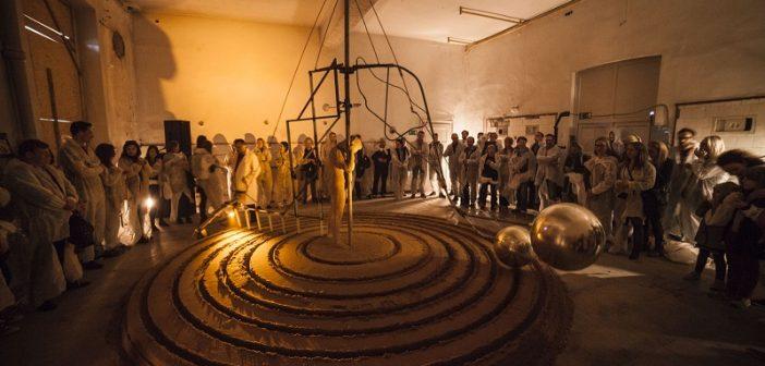 Astronomiczny spektakl artystyczny w Indiach