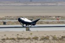 Lądowanie Dream Chasera w bazie Edwards / NASA
