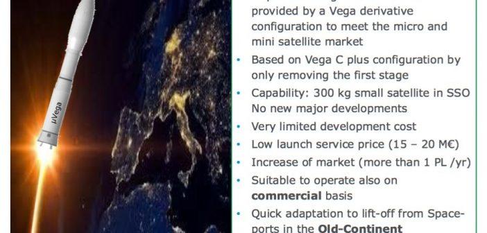 Jedna z niewielu ogólnodostępnych grafik (slajdów) z informacjami o rakiecie Sparrow / Mini-Vega / Credits - ArianeGroup